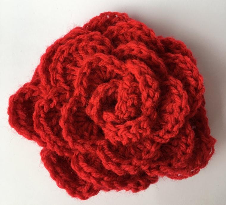 Mi rosa de Sant Jordi y mas ideas para el día de la madre a crochet ...